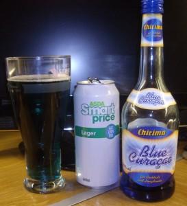 Blue beer is best beer.