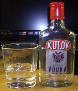 Kulov vodka for cool people!