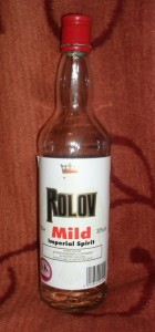 I cannot think of a more pointless drink than Rolov not-vodka
